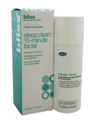 Steep Clean Pore Purifying Mask - For Clearer Skin by Bliss for Unisex - 3.4 oz Mask
