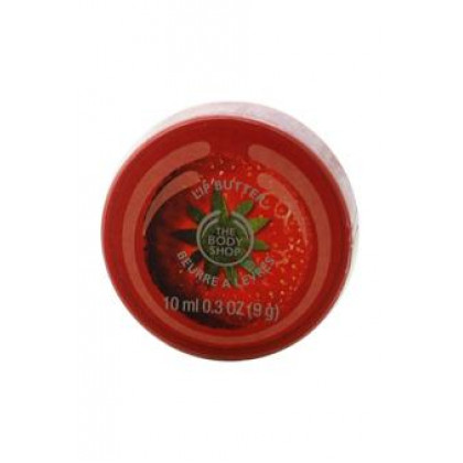 Strawberry Lip Butter by The Body Shop for Unisex - 0.3 oz Lip Butter