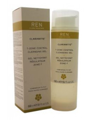 Clarimatte T-Zone Control Cleansing Gel - Combination To Oily Skin by REN for Unisex - 5.1 oz Gel