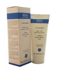 Vita Mineral Emollient Rescue Cream by REN for Unisex - 1.7 oz Cream