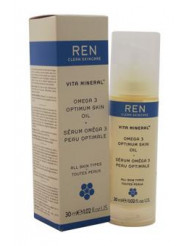 Vita Mineral Omega 3 Optimum Skin Oil by REN for Unisex - 1.02 oz Oil