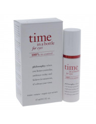 Time In a Bottle For Eyes Daily Age-Defying Serum Philosophy Eye Serum for Unisex 0.5 oz