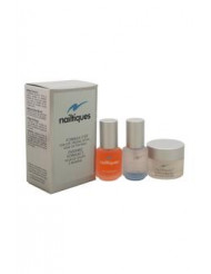 Nailtiques Formula # 2 Kit by Nailtiques for Unisex - 3 Pc Kit 7ml Nail Protein Formula # 2, 7g Cuticle & Skin Gel, 7ml oz Oil Therapy
