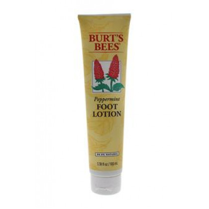 Peppermint Foot Lotion by Burt's Bees for Unisex - 3.38 oz Lotion