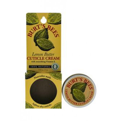 Lemon Butter Cuticle Cream by Burt's Bees for Unisex - 0.6 oz Cuticle Cream