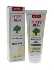 Ultimate Care Hand Cream by Burt's Bees for Unisex - 3.2 oz Hand Cream