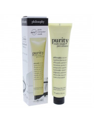 Purity Made Simple Pore Extractor Exfoliating Clay Mask Philosophy Mask for Unisex 2.5 oz