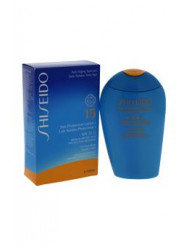 Sun Protection Lotion N SPF 15 by Shiseido for Unisex - 5 oz Sunscreen