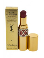 Rouge Volupte Shine Lipstick - # 8 Pink In Confidence by Yves Saint Laurent for Women - 0.15 oz Lipstick