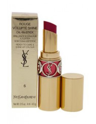 Rouge Volupte Shine Lipstick - # 6 Pink In Devotion by Yves Saint Laurent for Women - 0.15 oz Lipstick