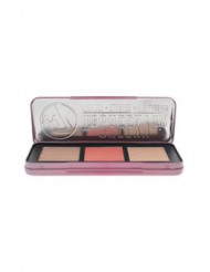 The Cheeky Trio Powder Palette by W7 for Women - 0.74 oz Bronze - Dream Machine, Blusher - 5th Avenue, Highlighter - Hot Stuff
