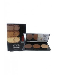 Step-By-Step Contour Kit by SmashBox for Women - 0.4 oz Palette