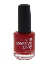 Creative Play Nail Lacquer - Revelry Red by CND for Women - 0.46 oz Nail Polish