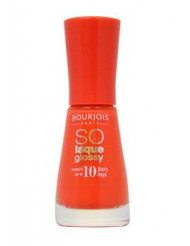 So Laque Glossy -# 02 Prepp'hibiscus by Bourjois for Women - 0.3 oz Nail Polish