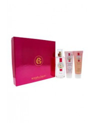 Rose by Roger & Gallet for Women - 3 Pc Gift Set 3.3oz Fresh Fragrant Water Spray, 1.7oz Soothing Shower Gel, 1.7oz Soothing & Nourishing Body Lotion