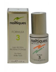 Nail Protein Formula # 3 by Nailtiques for Women - 0.5 oz Manicure