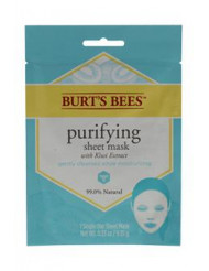 Purifying Sheet Mask with Kiwi Extract by Burt's Bees for Women - 0.33 oz Mask