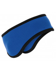 Port Authority 174 Two-Color Fleece Headband. C916 OSFA Royal