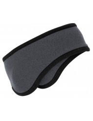 Port Authority 174 Two-Color Fleece Headband. C916 OSFA Midnight Hthr