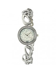 Titan Karishma Silver White Dial Analog Watch for Women