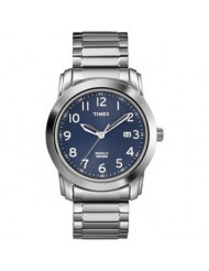 Timex Mens Silvertone Expansion Band Watch