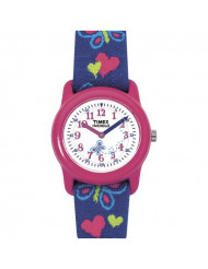 Timex Youth Easy Reader Butterfly Girls Watch