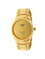 Gold Slim Indexes Executive Classic Mens Watch